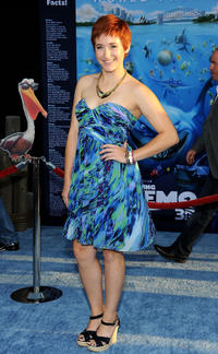 Erica Beck at the California premiere of