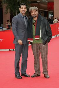 John Abraham and Anurag Kashyap at the premiere of