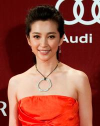 Li Bingbing at the 4th Asian Film Awards ceremony.