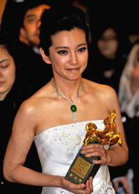 Li Bingbing at the Golden Horse Awards.