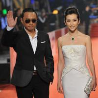 Zhang Hanyu and Li Bingbing at the Golden Horse Awards.
