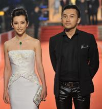 Li Bingbing and Alec Su at the Golden Horse Awards.