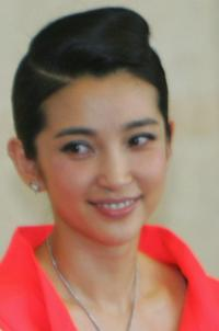 Li Bingbing at the press conference of