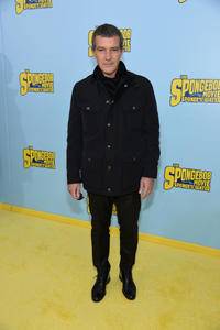 Antonio Banderas at the New York World premiere of