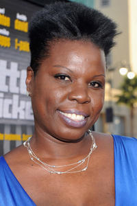 Leslie Jones at the premiere of 'Lottery Ticket' at Grauman's Chinese Theater.