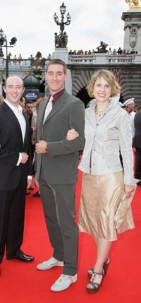 Mark Walsh, Dylan Brown and Guest at the after party of the premiere of