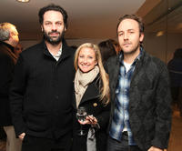 Emile Sherman, Caroline Sherman and Derek Cinefrance at the screening of