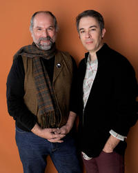 John Kapelos and Jonathan Crow at the portrait session of