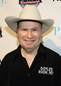 Gabe Kaplan at the draw party for NBC's fourth National Heads-Up Poker Championship.