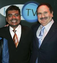 George Lopez and Gabe Kaplan at the AOL and Warner Bros. Launch of In2TV at the Museum of TV & Radio.