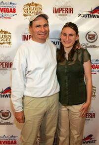 Gabe Kaplan and Rachel Kaplan at the screening of
