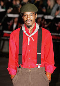 André Benjamin at the London premiere of