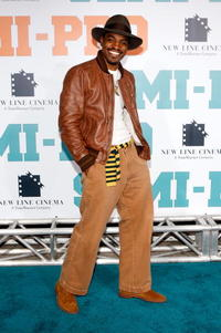 Actor Andre Benjamin at the L.A. premiere of