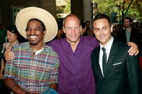 Andre Benjamin, Woody Harrelson and Stuart Townsend at the world premiere of