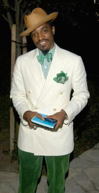 Andre Benjamin at the Chrysalis Third Annual Butterfly Ball.