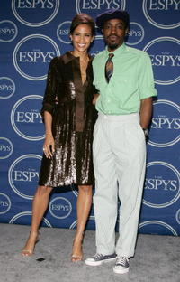 Paula Patton and Andre Benjamin at the 2006 ESPY Awards.