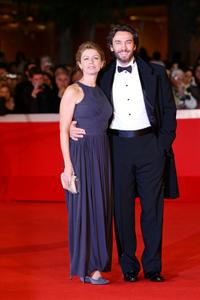 Amanda Sandrelli and Alessio Boni at the 4th Rome International Film Festival.
