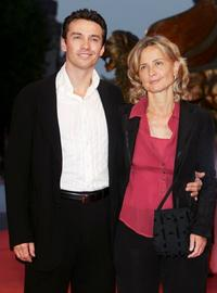 Alessio Boni and Director Cristina Comencini at the premiere of