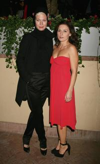 Jane Alexander and Lidia Vitale at the Ciak magazine party during the 2nd Rome Film Festival.