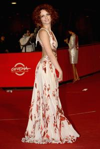 Camilla Filippi at the premiere of