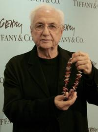 Frank Gehry at the Tiffany and Co's launch of