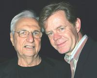 Frank Gehry and William H. Macy at the launch of Mr. Gehry's premiere jewelry collection for Tiffany and Co.