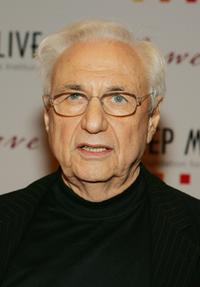 Frank Gehry at the Keep Memory Alive Foundation's 10th annual gala.