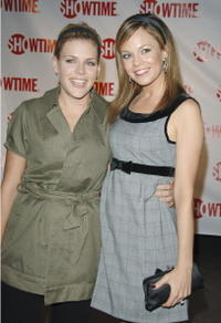 Busy Philipps and Rachel Boston at the premiere of