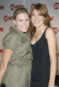 Busy Philipps and Jennifer Carpenter at the premiere of