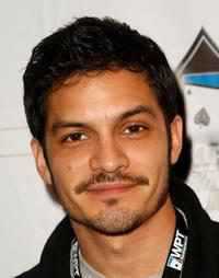 Nicholas Gonzalez at the 6th Annual World Poker Tour Invitational Kick Off.