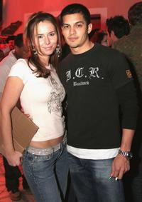 Nicholas Gonzalez and his Friend at the party for Karl Kanis new London based line