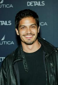 Nicholas Gonzalez at the Details Magazine and Nautica Next Big Thing Party.