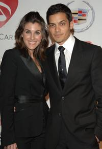 Nicholas Gonzalez and Guest at the 2006 MusiCares Person of the Year.