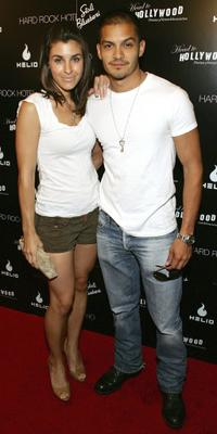 Monica Allgeier and Nicholas Gonzalez at the first Annual Head to Hollywood Celebrity Charity Poker Tournament and Auction.