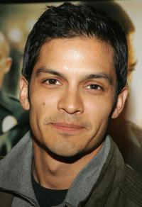Nicholas Gonzalez at the premiere of