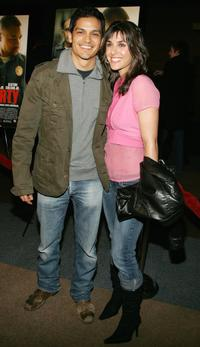 Nicholas Gonzalez and Guest at the premiere of