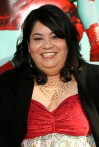 Carla Jimenez at the premiere of