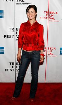 Josie Davis at the premiere of