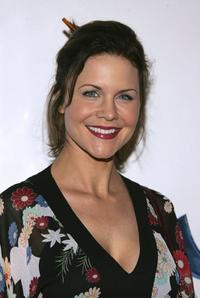Josie Davis at the Samsung premiere of