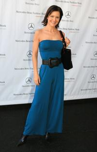 Josie Davis at the Mercedes Benz Fashion Week.