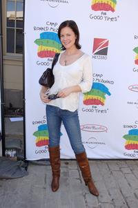 Josie Davis at the Camp Ronald McDonald for kids 14th Annual Family Halloween Carnival.
