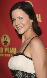 Josie Davis at the grand opening of Red Pearl Kitchen Hollywood.