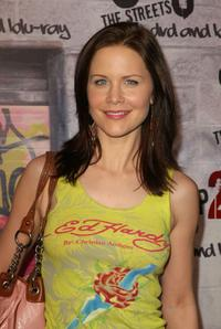 Josie Davis at the