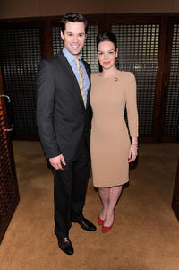 Andrew Rannells and Tammy Blanchard at the 5th Annual Tony Awards in New York.