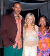 Jason Olive, Malin Ackerman and Kimberly Kevon Williams at the California premiere of