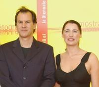 Christopher Buchholz and Luisa Ranieri at the photocall of