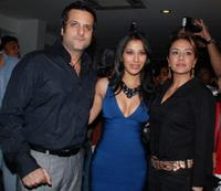 Fardeen Khan, Sophie Choudry and Natasha at the launch of new music album