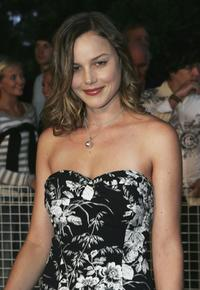 Abbie Cornish at the Tropfest Short Film Festival 2005.