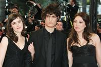Clementine Poidatz, Louis Garrel and Laura Smet at the Palais des Festivals during the 61st International Cannes Film Festival.