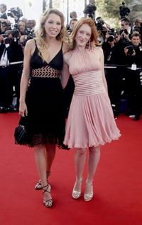 Laura Smet and Ludivine Sagnier at the 59th International Cannes Film Festival.